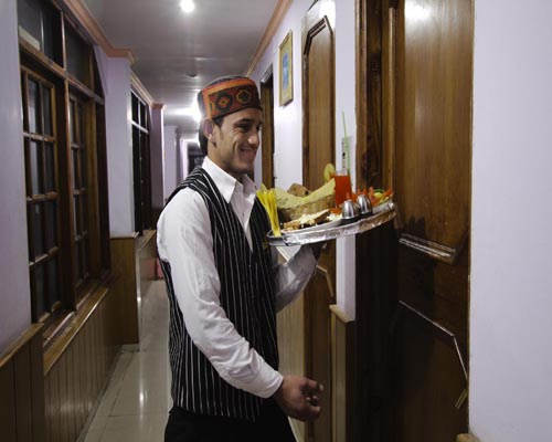 Hotel Room Service - Himachal Valley