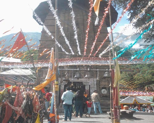 Mahadev Temple in Chaurasi, Bharmour