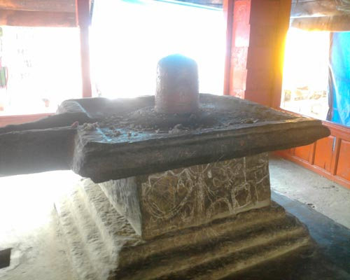 Shivling in Chaurasi Temple, Bharmour - Himachal Valley